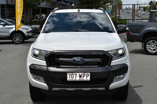 2016 Ford Ranger PX MkII MY17 Wildtrak 3.2 (4x4) White 6 Speed Automatic Dual Cab Pick-up.