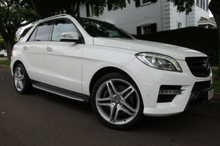 2014 Mercedes-Benz ML400 166 MY14 4x4 White 7 Speed Automatic Wagon.