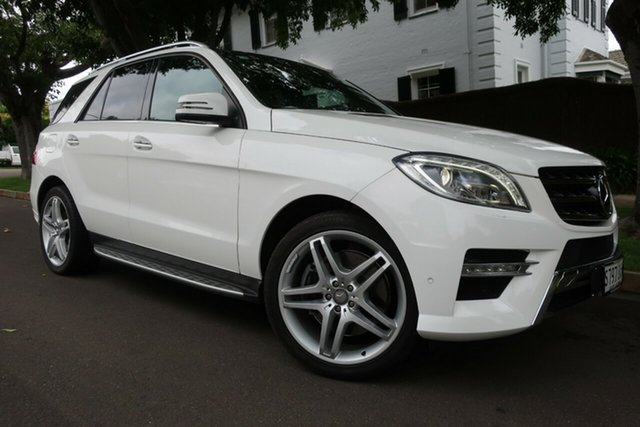 Used Mercedes-Benz ML400 166 MY14 4x4 Prospect, 2014 Mercedes-Benz ML400 166 MY14 4x4 White 7 Speed Automatic Wagon