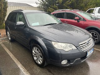 2008 Subaru Outback B4A MY08 R AWD Premium Pack Grey 5 Speed Sports Automatic Wagon