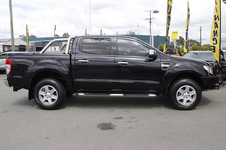 2015 Ford Ranger PX MkII XLT Double Cab 4x2 Hi-Rider Black Mica 6 Speed Sports Automatic Utility
