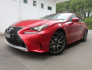 2018 Lexus RC GSC10R RC350 F Sport Red 8 Speed Sports Automatic Coupe.