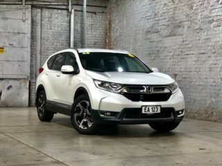 2018 Honda CR-V RW MY18 VTi-S FWD White 1 Speed Constant Variable Wagon.