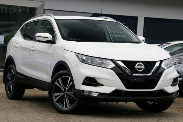 Used Nissan Qashqai J11 Series 2 ST-L X-tronic Homebush, 2019 Nissan Qashqai J11 Series 2 ST-L X-tronic White Pearl 1 Speed Constant Variable Wagon