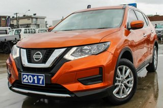 2017 Nissan X-Trail T32 Series II ST X-tronic 2WD Orange 7 Speed Constant Variable Wagon.
