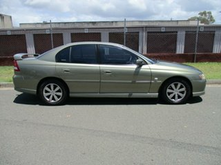 2004 Holden Commodore VY II Equipe Green 4 Speed Automatic Sedan.
