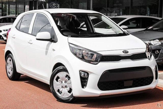 New Kia Picanto JA MY21 S Reynella, 2020 Kia Picanto JA MY21 S White 4 Speed Automatic Hatchback