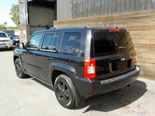 2010 Jeep Patriot MK MY2010 Sport CVT Auto Stick Black 6 Speed Constant Variable Wagon