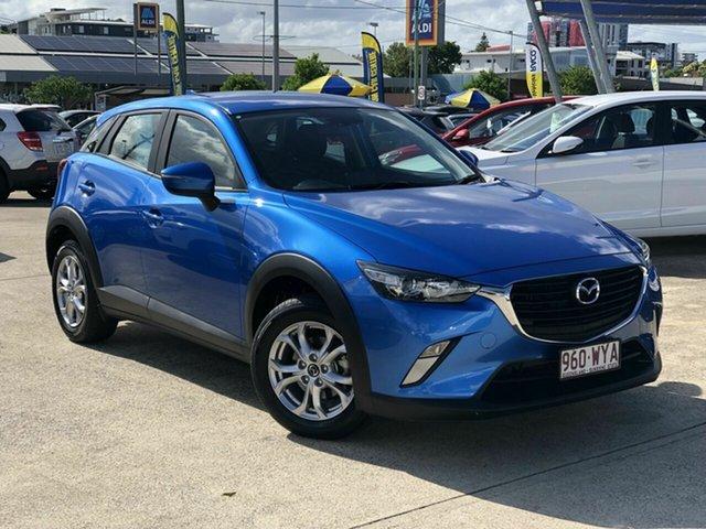 Used Mazda CX-3 DK2W7A Maxx SKYACTIV-Drive Chermside, 2016 Mazda CX-3 DK2W7A Maxx SKYACTIV-Drive Blue 6 Speed Sports Automatic Wagon