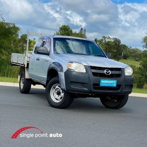 Used Mazda BT-50 UNY0E3 DX+ Freestyle 4x2 Chevallum, 2006 Mazda BT-50 UNY0E3 DX+ Freestyle 4x2 Silver 5 Speed Manual Cab Chassis