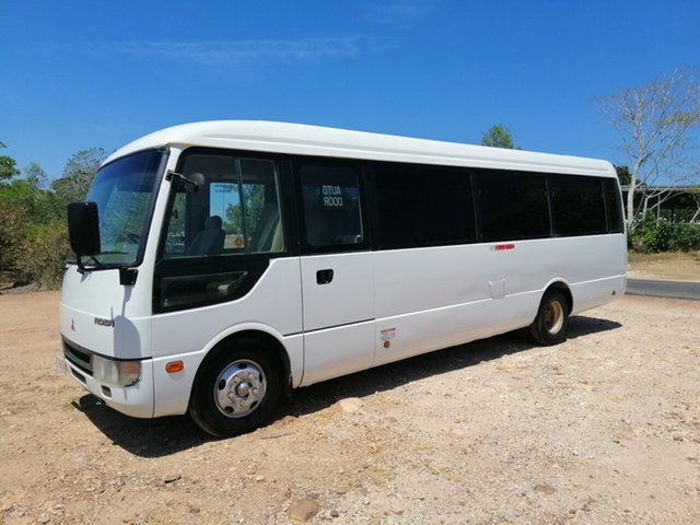 Used Mitsubishi Fuso Rosa BE649 Base Parap, 2004 Mitsubishi Fuso Rosa BE649 Base White Bus