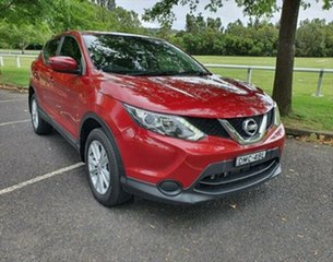 2017 Nissan Qashqai J11 ST Magnetic Red 1 Speed Constant Variable Wagon.