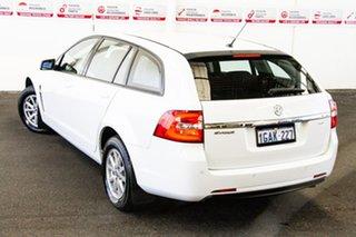 2016 Holden Commodore VF II Evoke White 6 Speed Automatic Sportswagon.