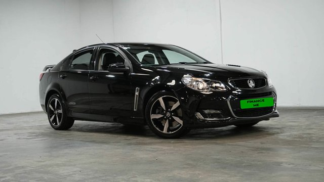 Used Holden Commodore VF II MY16 SS Welshpool, 2015 Holden Commodore VF II MY16 SS Black 6 Speed Manual Sedan