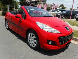 2009 Peugeot 207 A7 CC SERIES 2 Red 4 Speed Automatic Convertible.
