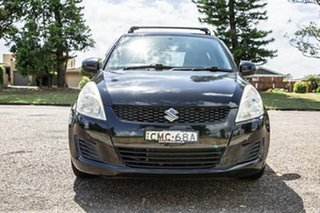 2012 Suzuki Swift FZ GA Black 5 Speed Manual Hatchback.