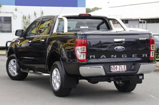 2015 Ford Ranger PX MkII XLT Double Cab 4x2 Hi-Rider Black Mica 6 Speed Sports Automatic Utility.