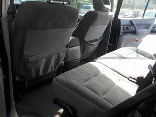 2003 Mitsubishi Pajero NP MY04 GLS Black 5 Speed Manual Wagon