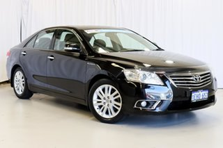 2011 Toyota Aurion GSV40R MY10 Presara Black 6 Speed Sports Automatic Sedan.