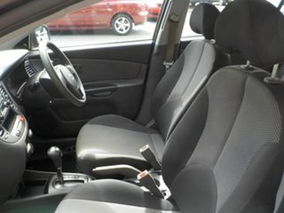 2010 Kia Rio JB MY10 S Black 4 Speed Automatic Hatchback
