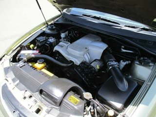 2004 Holden Commodore VY II Equipe Green 4 Speed Automatic Sedan