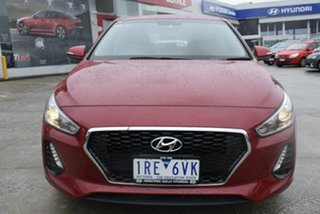 2020 Hyundai i30 PD2 MY20 Active Red/Black 6 Speed Sports Automatic Hatchback.