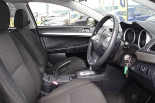 2011 Mitsubishi Lancer CJ MY12 ES Cool Silver 6 Speed Constant Variable Sedan