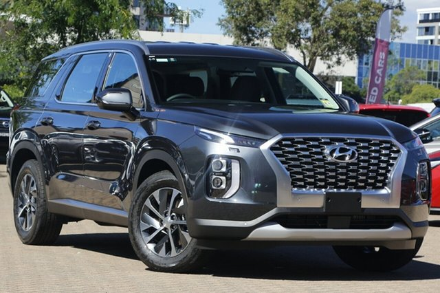 New Hyundai Palisade LX2.V1 MY21 AWD St Marys, 2020 Hyundai Palisade LX2.V1 MY21 AWD Steel Graphite 8 Speed Sports Automatic Wagon