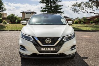 2018 Nissan Qashqai J11 Series 2 Ti X-tronic White 1 Speed Constant Variable Wagon.