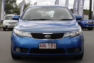 2013 Kia Cerato TD MY13 SI Abyss Blue 6 Speed Sports Automatic Hatchback