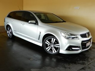 2015 Holden Commodore VF MY15 SV6 Storm Silver 6 Speed Automatic Sportswagon.