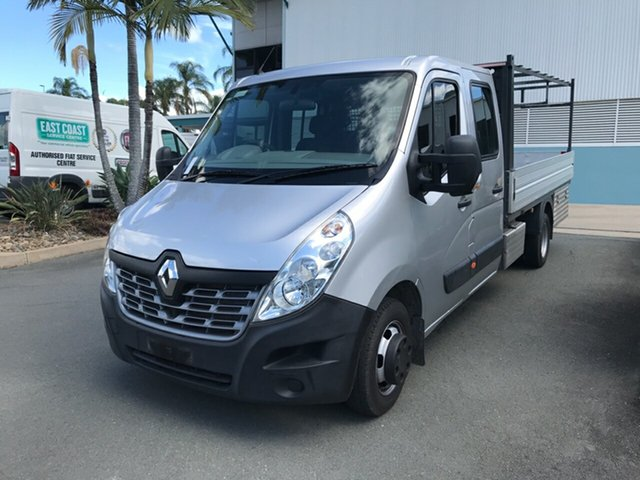 Used Renault Master X62 Double Cab LWB AMT RWD Acacia Ridge, 2016 Renault Master X62 Double Cab LWB AMT RWD 6 speed Automatic Cab Chassis