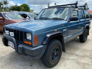 1998 Jeep Cherokee XJ Sport Blue 4 Speed Automatic Wagon.