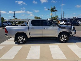 2017 Toyota Hilux GUN126R SR5 Double Cab Silver Sky 6 Speed Sports Automatic Utility.