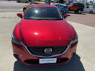 2015 Mazda 6 6C MY14 Upgrade Atenza Red 6 Speed Automatic Wagon.