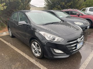 2015 Hyundai i30 GD3 Series II MY16 Active X Phantom Black 6 Speed Sports Automatic Hatchback.