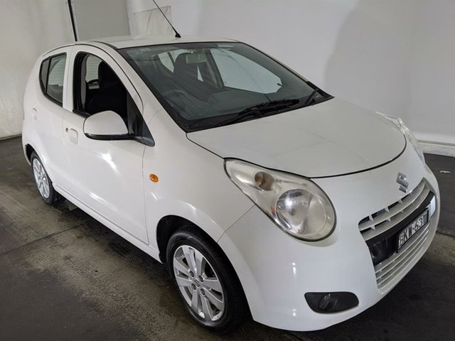 Used Suzuki Alto GF GLX Maryville, 2010 Suzuki Alto GF GLX White 4 Speed Automatic Hatchback