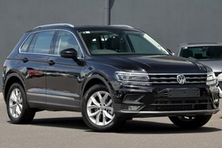 2020 Volkswagen Tiguan 5N MY20 132TSI DSG 4MOTION Comfortline Black 7 Speed.