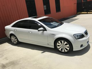 2012 Holden Caprice WM II V White 6 Speed Sports Automatic Sedan