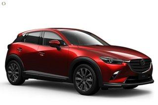 2020 Mazda CX-3 DK2W7A Akari SKYACTIV-Drive FWD Red 6 Speed Sports Automatic Wagon.
