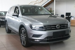 2020 Volkswagen Tiguan 5N MY21 162TSI Highline DSG 4MOTION Allspace Pyrit Silver Metallic 7 Speed.