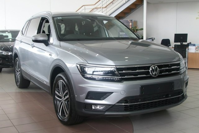 Demo Volkswagen Tiguan 162TSI Highline DSG 4MOTION Allspace Brookvale, 2020 Volkswagen Tiguan 162TSI Highline DSG 4MOTION Allspace Pyrit Silver Metallic 7 Speed