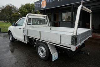 2016 Mazda BT-50 UR0YD1 XT 4x2 Cool White 6 Speed Manual Cab Chassis.