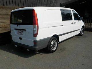 2011 Mercedes-Benz Vito 639 MY11 113CDI LWB White 5 Speed Automatic Van.