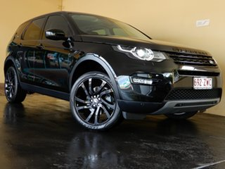 2017 Land Rover Discovery Sport L550 MY18 TD4 (110kW) HSE 5 Seat Black 9 Speed Automatic Wagon