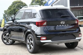 2020 Hyundai Venue QX.V3 MY21 Elite Phantom Black 6 Speed Automatic Wagon.