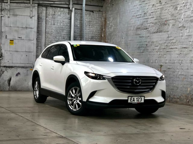 Used Mazda CX-9 TC Touring SKYACTIV-Drive Mile End South, 2016 Mazda CX-9 TC Touring SKYACTIV-Drive White 6 Speed Sports Automatic Wagon