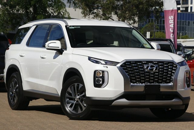 New Hyundai Palisade LX2.V1 MY21 AWD Nunawading, 2020 Hyundai Palisade LX2.V1 MY21 AWD White Cream 8 Speed Sports Automatic Wagon