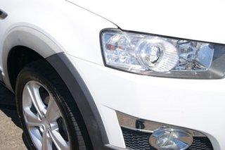 2012 Holden Captiva CG Series II 7 LX (4x4) White 6 Speed Automatic Wagon.