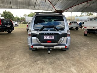 2015 Mitsubishi Pajero NX MY16 GLX LWB (4x4) Silver 5 Speed Auto Sports Mode Wagon